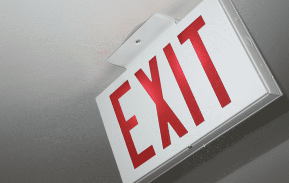 emergency exit light inspection