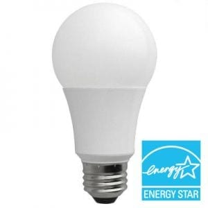 Pure-Light® LED A-19 Non-Dimmable Bulb