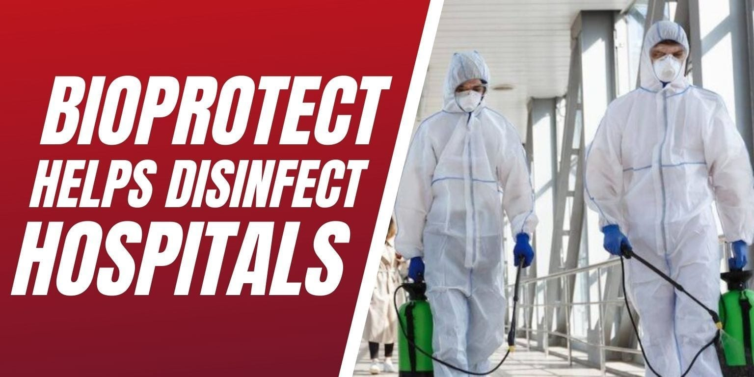 BioProtect Helps Disinfect Hospitals Blog Image