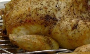 sous vide chicken cooked in CVap