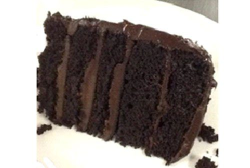 chocolate cake baked in cvap oven