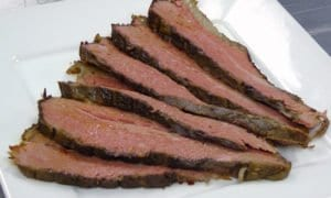 brisket is particularly good for overnight cooking