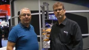 Steve Coleman of Qcel UK and Donald Schaper of Winston both value their partnership