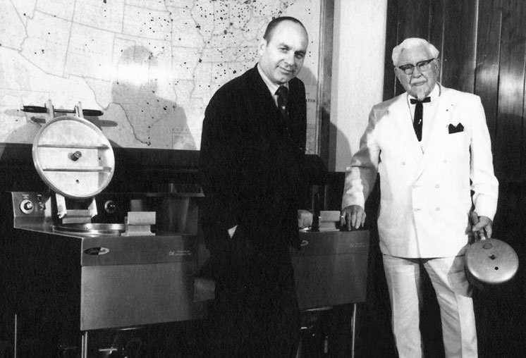 Winston and the Colonel, about 1969