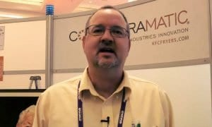 John Malnofski thinks Collectramatic fryers are fun and reliable to work with.