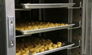 tater tots are a typical school food, and perfect for CVap ovens