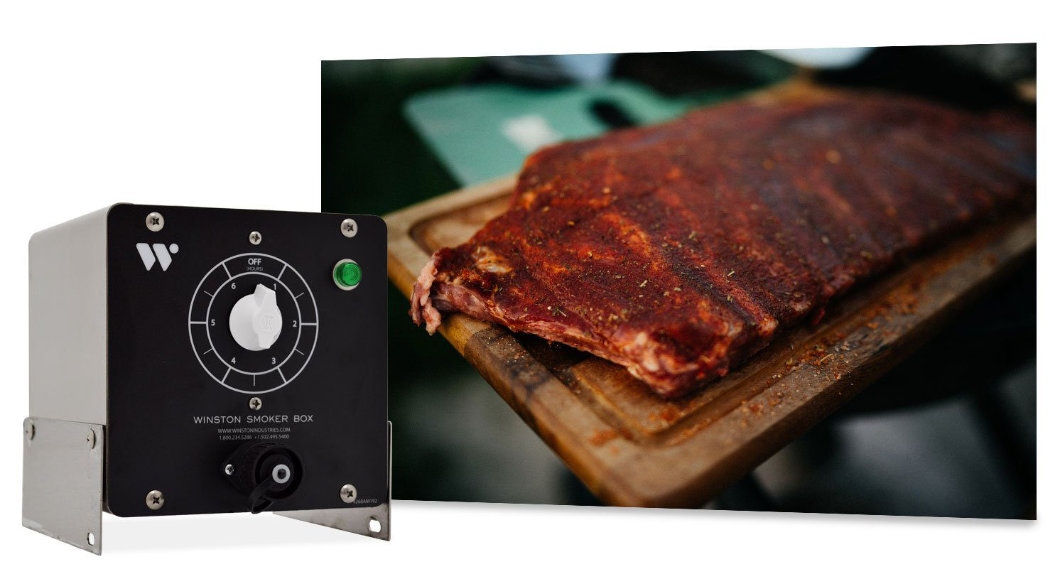 Smoking is easy with a Winston Smoker Box