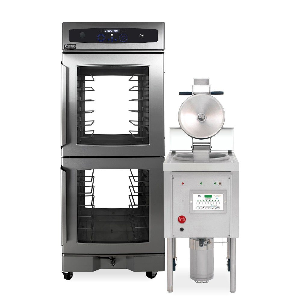 CVap cabinet and Collectramatic Pressure Fryer