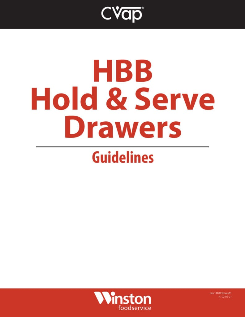 HBB Hold and Serve Guidelines thump
