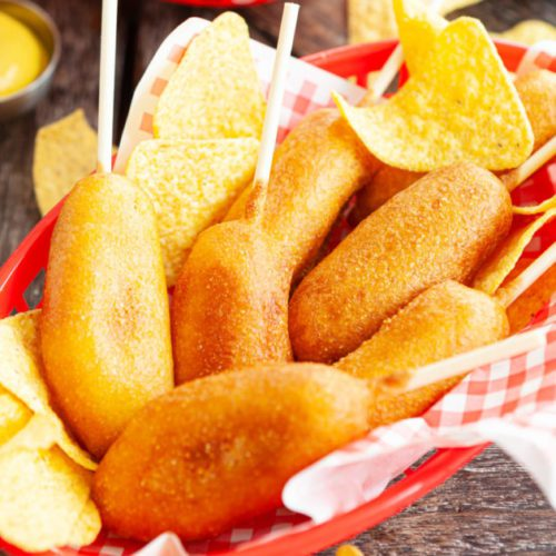retherming corn dogs