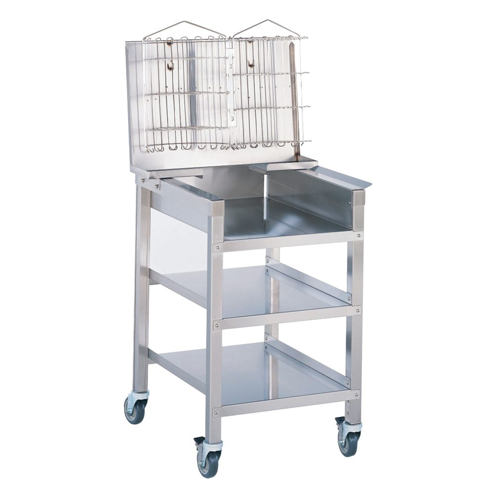 ps1682 tray cart with basket stand