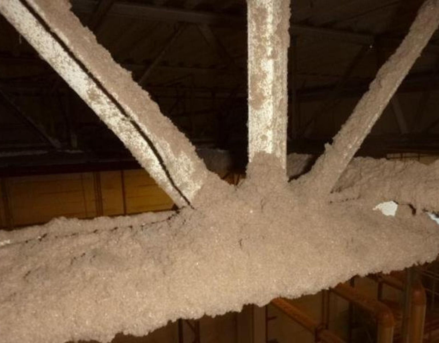rafter and ceiling cleaning